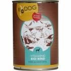 RyDog Vitalmenü Bio-Rind 400g (6 Stück)